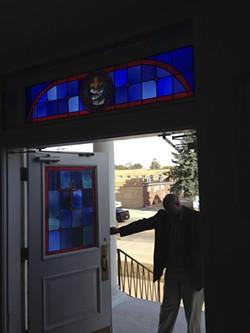 The Reverend Rodrick Burton at the New Northside Baptist Church in Jennings. - DOYLE MURPHY