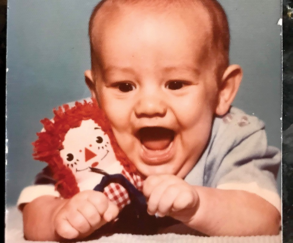 Jason had a happy childhood after being adopted as a baby. - COURTESY JASON RECKAMP