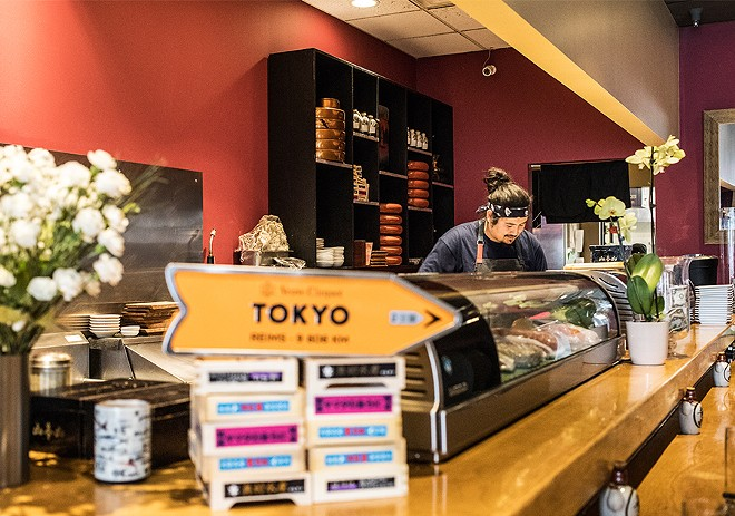 You'll want to put yourself in the chef's hands at this sushi bar. - MABEL SUEN