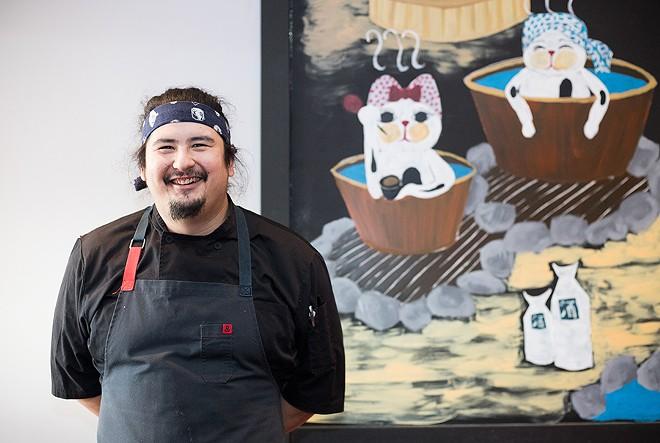 Chef Nick Bognar has transformed his mother's longtime restaurant. - MABEL SUEN