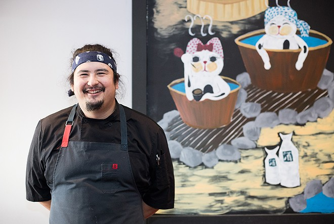 Chef Nick Bognar has transformed his mother's longtime restaurant. - MABEL SUEN