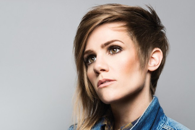 Cameron Esposito will perform at the Firebird on Friday, November 6. - PHOTO BY MANDEE JOHNSON