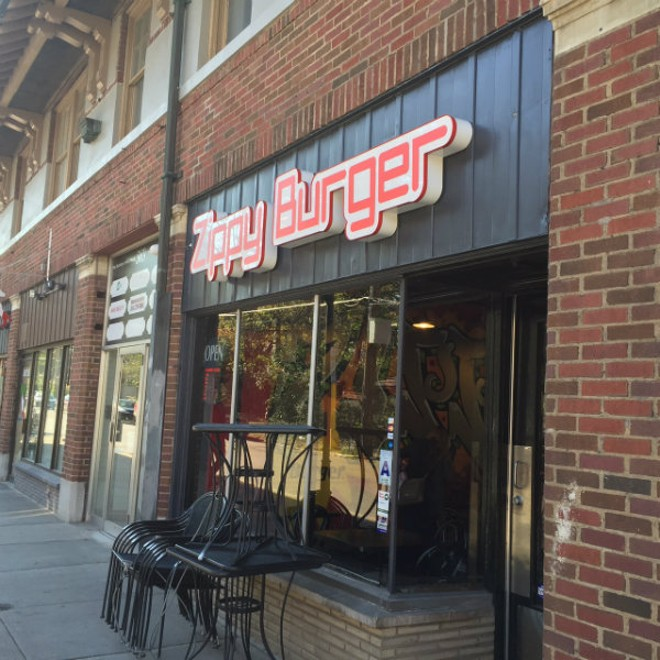 Zippy Burger is located on Melville, just south of Delmar. - PHOTO BY SARAH FENSKE