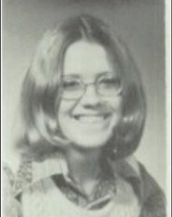 Karen Harty in her high school yearbook photo. - COURTESY OF KAREN HARTY