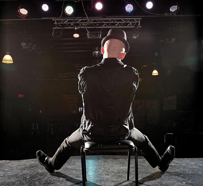 Jace Jones as Bryce Bordello. - STEVE TRUESDELL