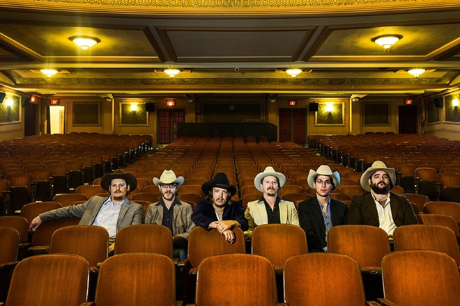 Mike and the Moonpies will perform at Off Broadway on Wednesday, November 18. - PHOTO BY DAVE CREANEY
