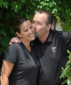 Dave Sobelman (right) with wife Melanie. - PHOTO COURTESY OF SOBELMAN'S