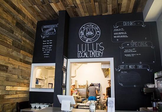 LULU'S LOCAL EATERY   MABEL SUEN