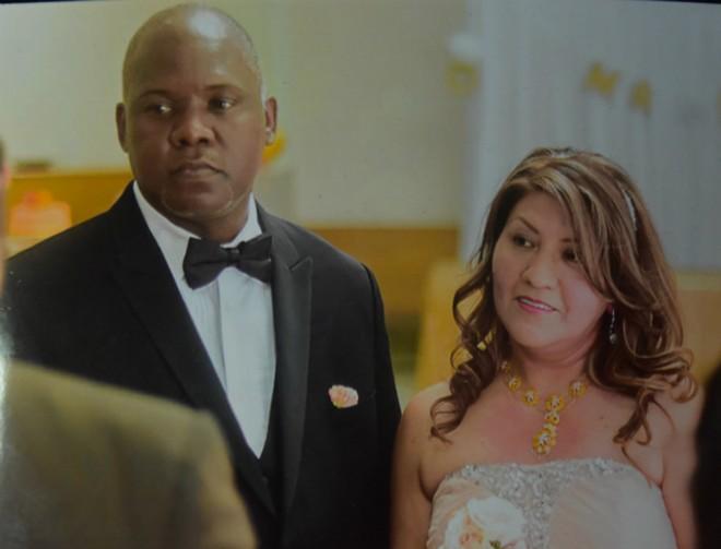 Steve Miller and Ilsa Guzman-Fajardo were married last year. - COURTESY STEVE MILLER