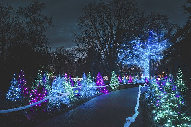 The Missouri Botanical Garden — site of two of this week's recommended events. - PHOTO BY SONYA LALLA