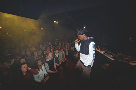 Local emcee Con performs alongside several stellar hip-hop acts at 2720 Cherokee Performing Arts Center this Friday. - PHOTO BY CORY MILLER