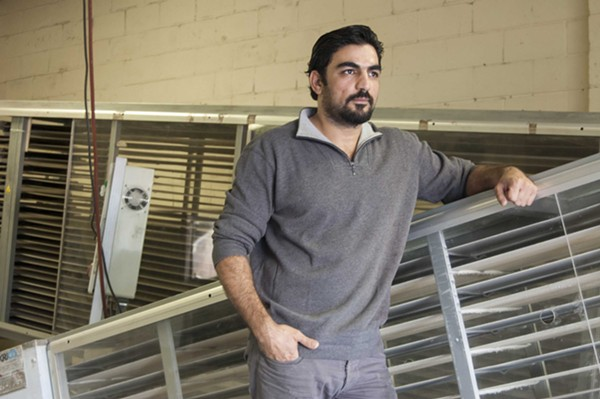 Alaa Alderie and his family fled Syria in 2012 and settled in St. Louis. - DANNY WICENTOWSKI