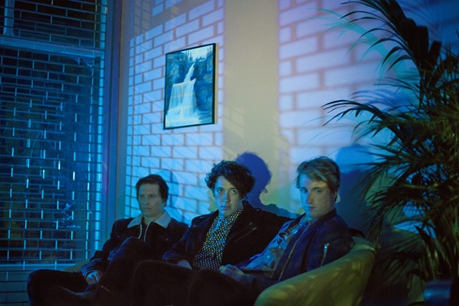 The Wombats will perform at Blueberry Hill on Tuesday, December 1. - PHOTO VIA PARADIGM TALENT AGENCY