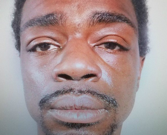 Dave Toliver is facing a felony charge of damage to property. - COURTESY EAST ST. LOUIS POLICE