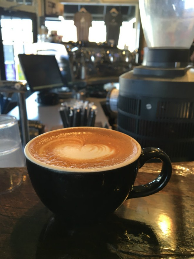 The Brown Sugar Rosemary Latte at Kaldi's Coffee Roasting Co.