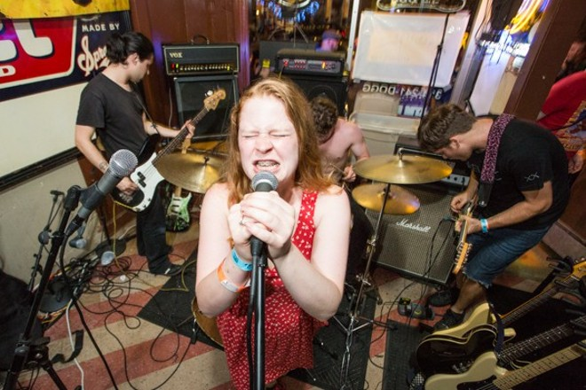 Little Big Bangs (voted Best Punk Band in the 2015 RFT Music Awards) performs this Monday night at CBGB on South Grand. - PHOTO BY THEO WELLING