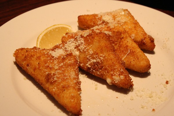 When at a Greek restaurant, always order the saganaki — because it's fried cheese. - JOHNNY FUGITT