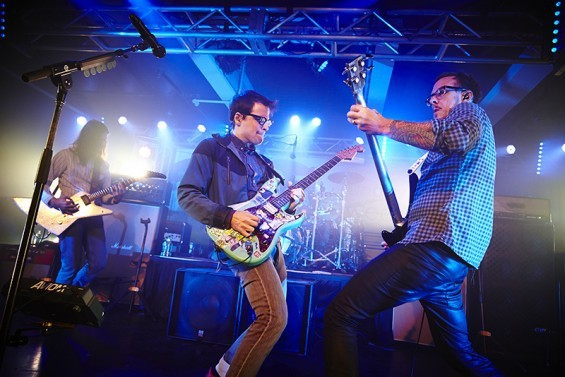 Weezer returns to St. Louis this Tuesday at the Peabody Opera House with opening act Wavves. - PHOTO BY STEVE TRUESDELL