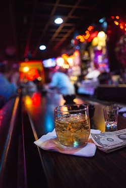 Though it's a beloved bar by any measure, you've got to have thick skin to drink at the 34 Club. - ERIC FRAZIER