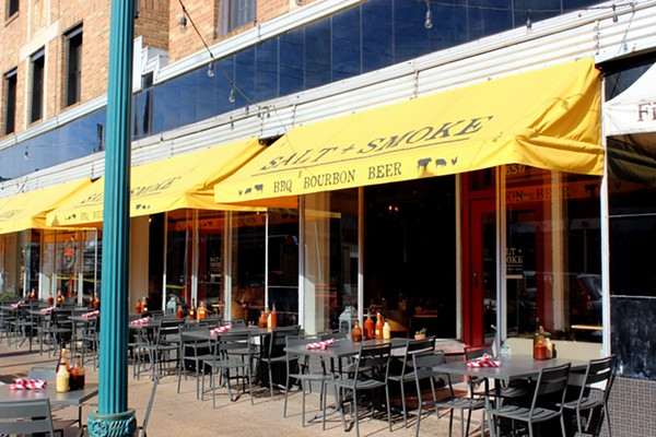 Salt and Smoke has a great patio for people-watching. - PHOTO BY LAUREN MILFORD