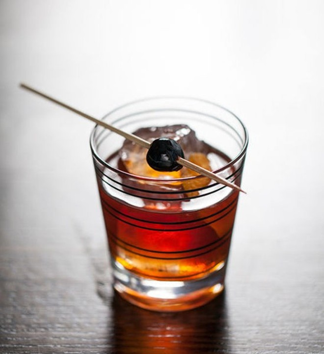 An old-fashioned at Blood & Sand.