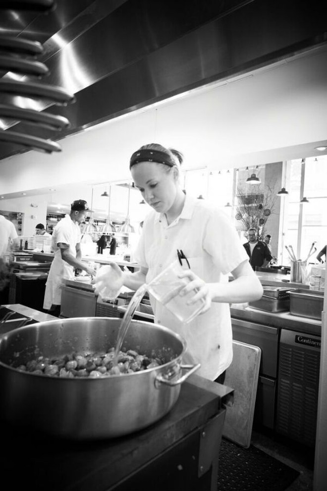 Ashley Shelton, executive chef at Pastaria. - GREG RANNELLS