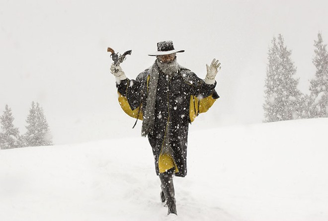 Samuel L. Jackson in The Hateful Eight. - ANDREW COOPER, SMPSP/© 2015 THE WEINSTEIN COMPANY. ALL RIGHTS RESERVED