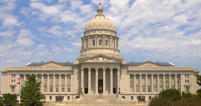 The Missouri State Capitol: Beneath that dull exterior is a sexy good time. - PHOTO COURTESY OF FLICKR/JIM BOWEN