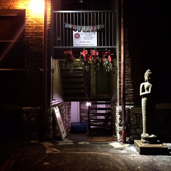 Back entrance of Casa Bagus - PHOTO BY JAIME LEES