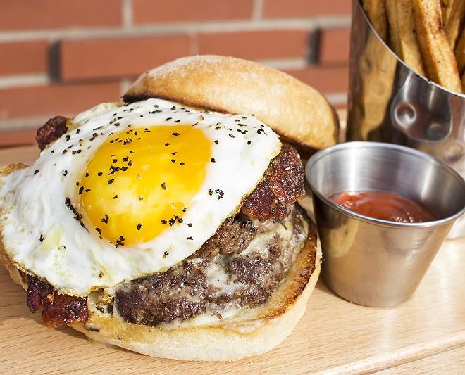 "The ""Farmhouse Burger"" - MABEL SUEN"