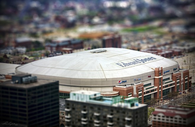 Finally, the Rams ditched the dome. Now we can do something useful with it. - FLICKR / THOMAS GEHRKE