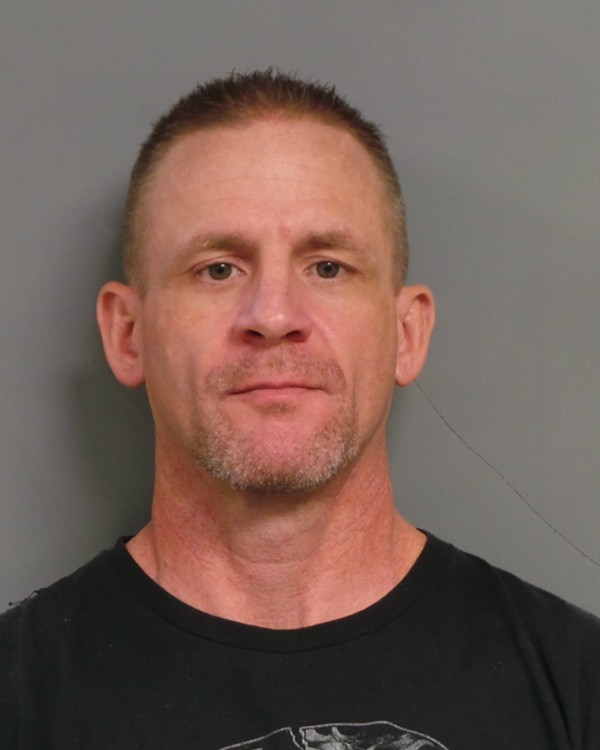 Bryan Roberts' booking photo - COURTESY OF THE ST. PETERS POLICE