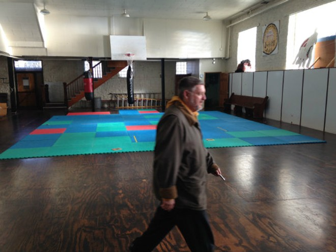 Loren Copp is cleaning up Dojo Pizza and hopes to reopen in the spring. - DOYLE MURPHY
