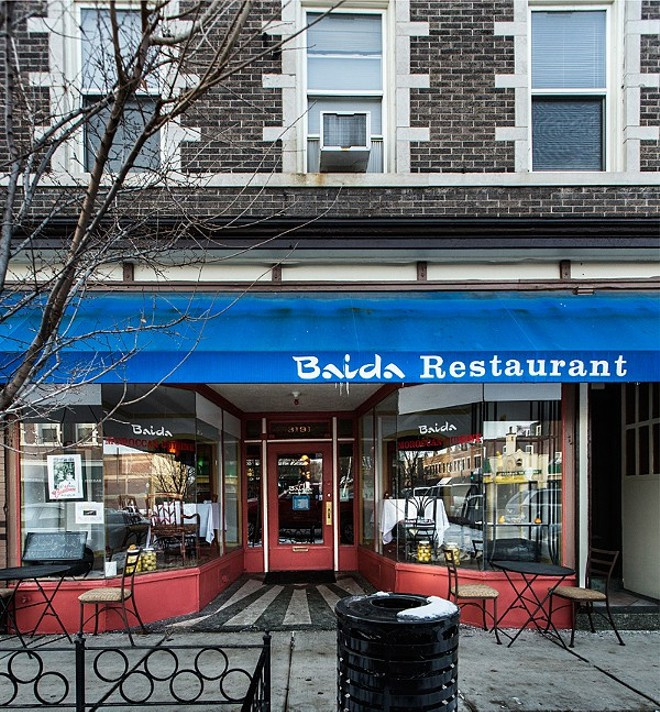 Baida is just one of many diverse restaurant on South Grand. - PHOTO BY JENNIFER SILVERBERG