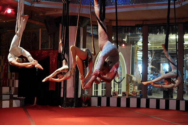 Circus Harmony is at the City Museum this weekend. - PHOTO BY LAUREN KNIGHT