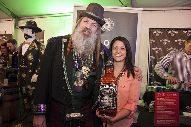 Taste a shit-ton of whiskeys in Soulard Market Park tonight from 7 to 11 p.m. - PHOTO BY MICAH USHER
