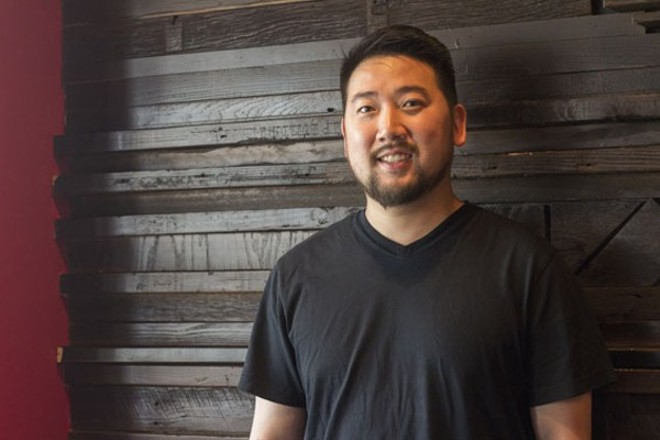 David Choi of Seoul Taco and Seoul Q. - MABEL SUEN