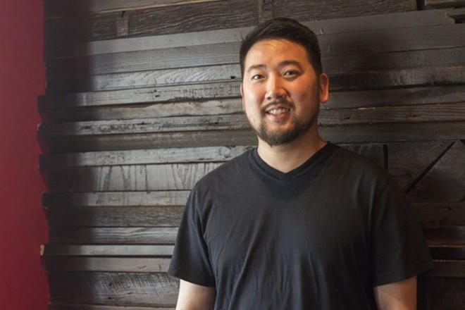 David Choi of Seoul Taco and Seoul Q. - MABEL SUEN