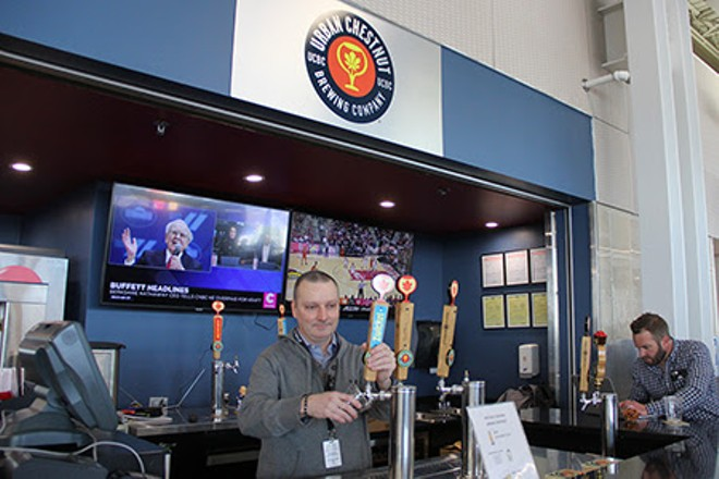 Urban Chestnut's new airport location is open for business in Terminal 2. - COURTESY OF LAMBERT ST. LOUIS INTERNATIONAL AIRPORT