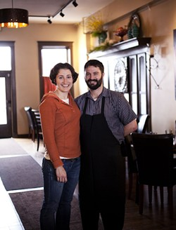 Jenny Cleveland and Ed Heath opened one of the area's most acclaimed restaurants when both were just 31. - PHOTO BY JENNIFER SILVERBERG