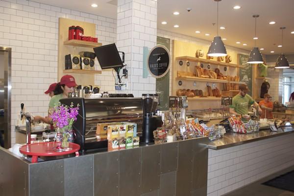 Companion serves a variety of espresso drinks, featuring Kaldi's coffee. - CHERYL BAEHR
