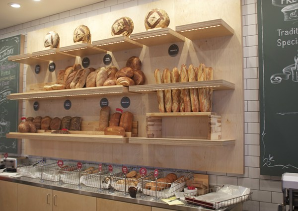 Companion's freshly-baked breads and pastries are on display in the cafe. - CHERYL BAEHR