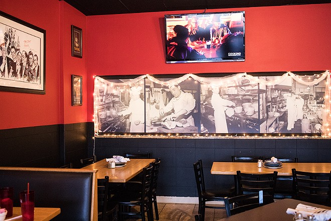 Owner Tim Pieri took pains to get the atmosphere just right. - MABEL SUEN