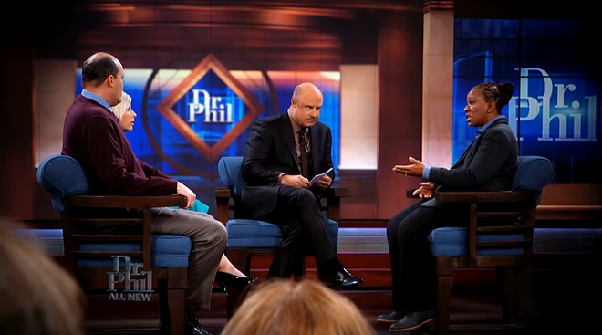 Dr. Phil took on a local controversy in Tuesday's episode. - VIA YOUTUBE