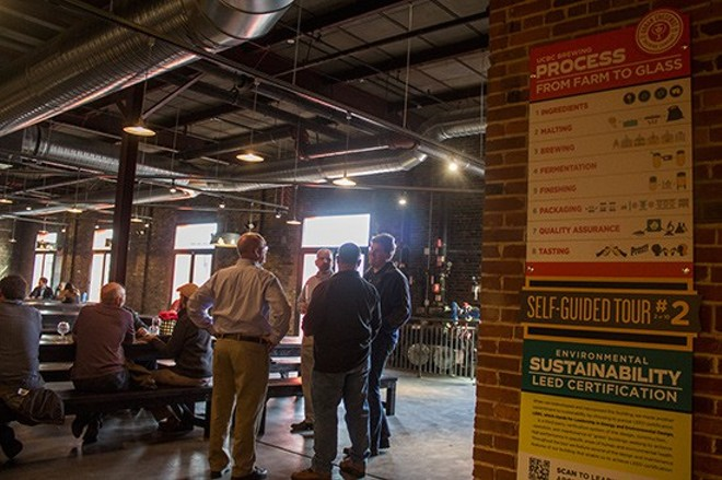 Urban Chestnut's Grove Bierhall is now pet-free. You can thank Dan Neman - PHOTO BY MABEL SUEN