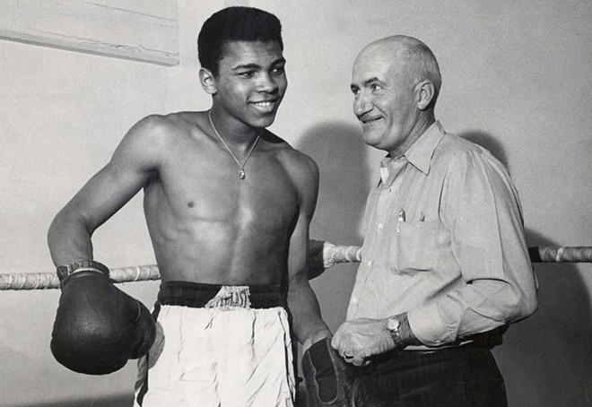 """""""Float like a butterfly, sting like a bee"""" — all weekend at the Missouri History Museum - PHOTO BY TOM EASTERLING, THE COURIER JOURNAL, USA TODAY SPORTS"""