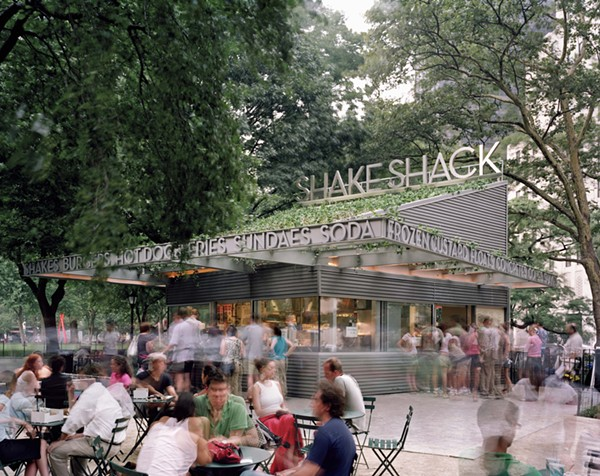 Shake Shack's Madison Square Park location in New York City - COURTESY OF SHAKE SHACK