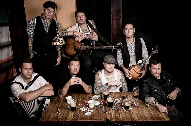 Dropkick Murphys will perrform at the Pageant on Tuesday, February 23. - KERRY BRETT