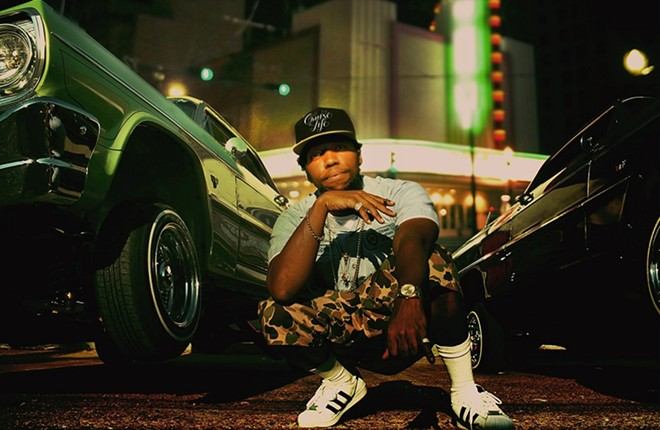 Curren$y will perform at the Marquee Restaurant & Lounge on Friday, March 18. - PRESS PHOTO