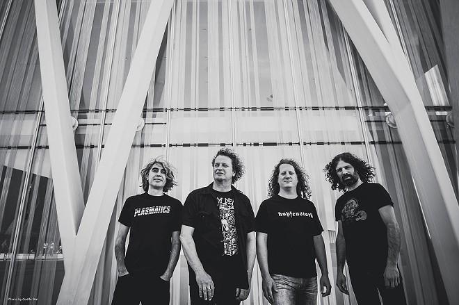 Voivod will perform at the Firebid this Sunday. - PRESS PHOTO
